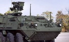 GD Stryker Vehicle