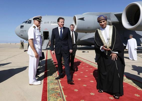 David Cameron in Oman