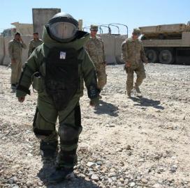 explosive disposal
