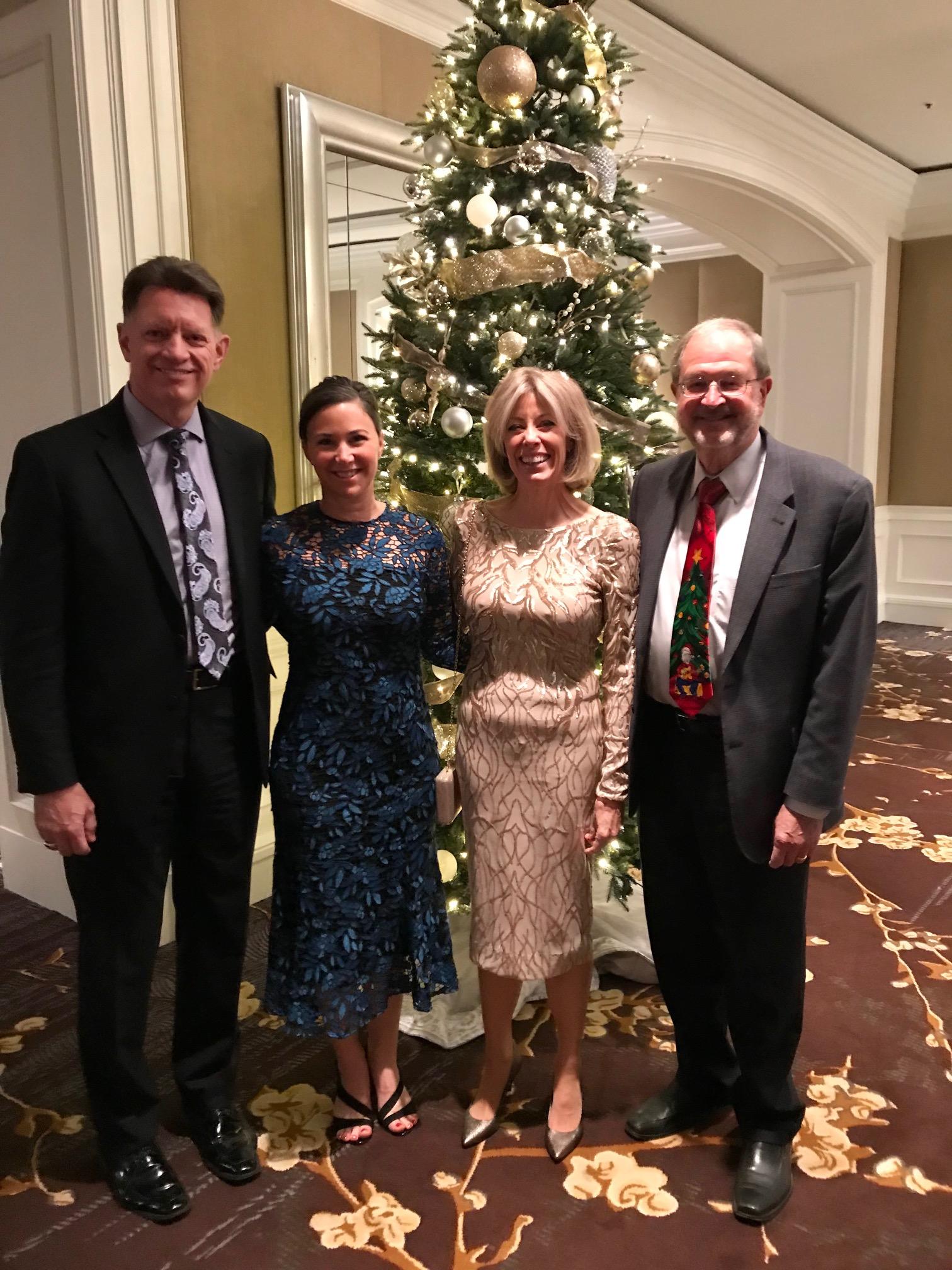 ManTech s Kevin Phillips Honors Retiring MCIS President Bill
