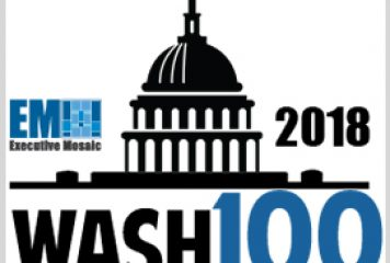 Executive Mosaic's Weekly GovCon Round-up: Wash100 Update & Recent Executive Moves