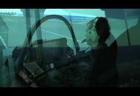 VIDEO: F-35 Flight SIM – LSO Station – GovCon Wire