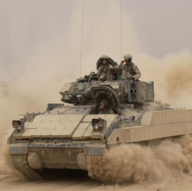 Vehicle Modules Army Deliver 91m Fighting Under To Bradley Bae O6vTqA4w