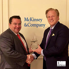 Jon Spaner, Public Sector Practice for McKinsey & Company, Receives
