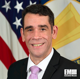 Leonel Garciga, Director of Information Management With the Army, to Serve on Panel During Potomac Officers Club's Weaponizing Data Across the Digital Battlefield Virtual Event