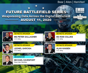 Join Potomac Officers Club for Today's Virtual Event: Weaponizing Data Across the Digital Battlefield