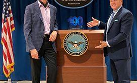 Michael Conlin (L) and Jim Garrettson (R)