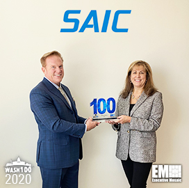 SAIC CEO Nazzic Keene Receives Her Third Wash100 Award for Company Expansion, Driving IT Capabilities