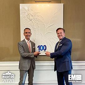 Former ODNI Principal Executive Andrew Hallman Receives First Wash100 Award