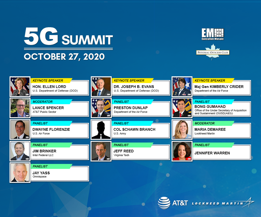 Potomac Officers Club's 5G Summit to Address Priorities, Challenges, Innovations with 5G Adoption