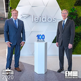 Leidos Chairman, CEO Roger Krone Receives Seventh Consecutive Wash100 Award
