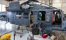 Helicopter Maintenance Air Force photo