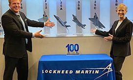 Michele Evans, EVP of Aeronautics Lockheed Martin, Receives First Wash100 Award