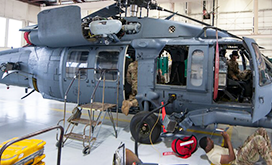 Helicopter Maintenance U.S. Air Force photo