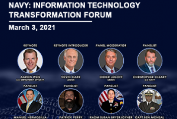 GovConWire to Host Navy: IT Transformation Forum TODAY at 9am; Learn More About Event Speakers