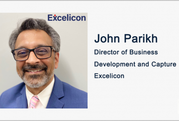 John Parikh Named Director of Business Development & Capture at Excelicon