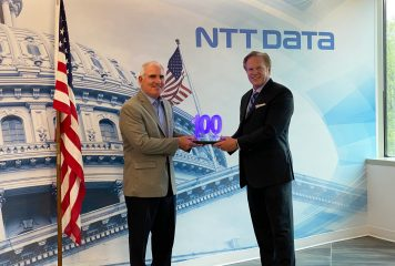 NTT Data Services EVP Tim Conway Receives Second Wash100 Award From Executive Mosaic CEO Jim Garrettson