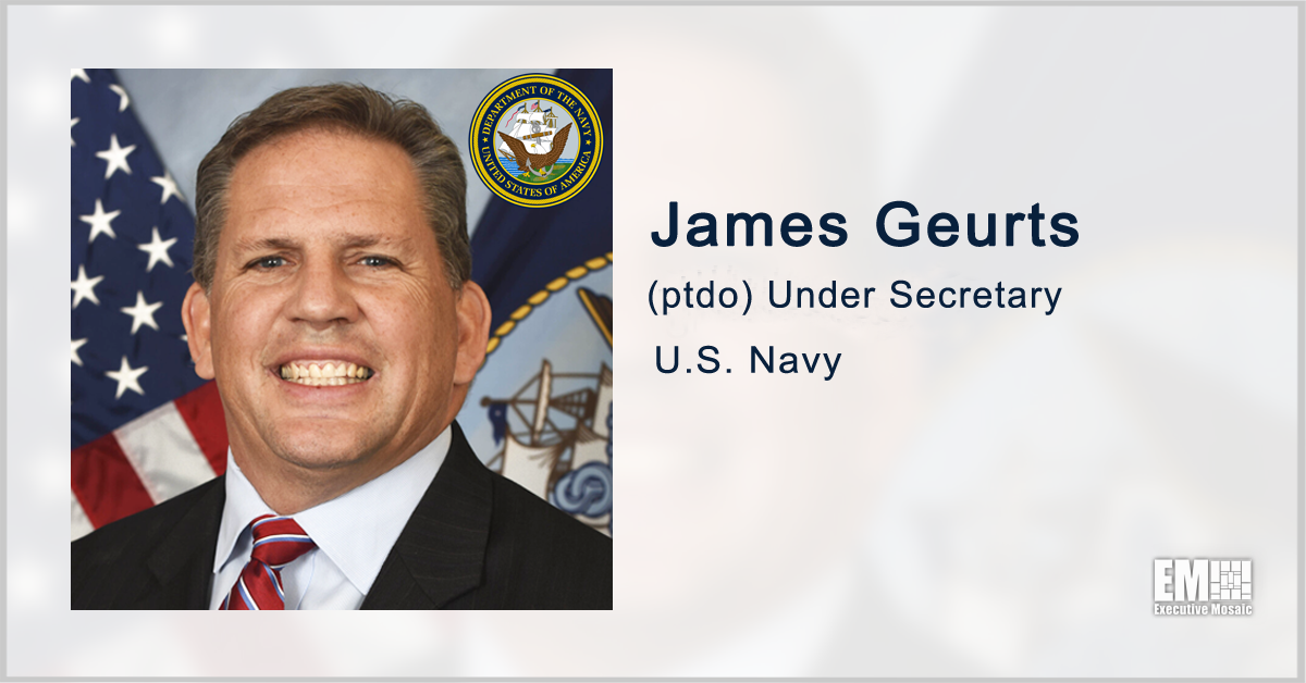 In Case You Missed: Potomac Officers Club Hosts 2021 Navy Forum; Featuring James Geurts as Keynote Speaker