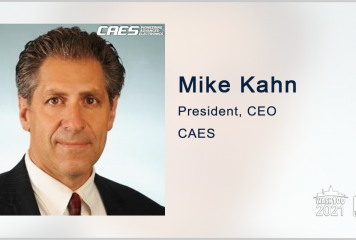 Mike Kahn: CAES, Raytheon to Collaborate on Military Space Internet Connectivity Project