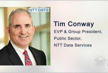 NTT Data to Support DOJ ECAS IT Modernization Initiative; Tim Conway Quoted