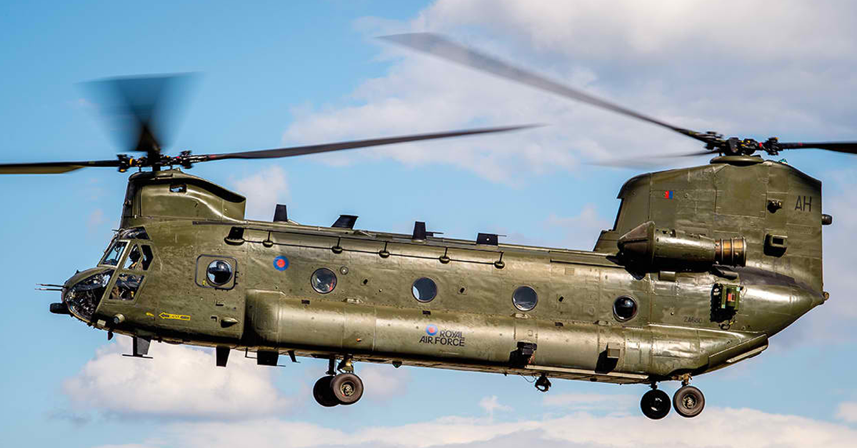 UK Finalizes $2B Chinook Helicopter Procurement via US Foreign Military Sales Program