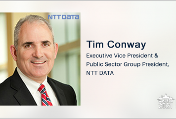 Executive Spotlight: NTT Data's Tim Conway Discusses Contract Wins, IT Modernization Challenges and Company Goals