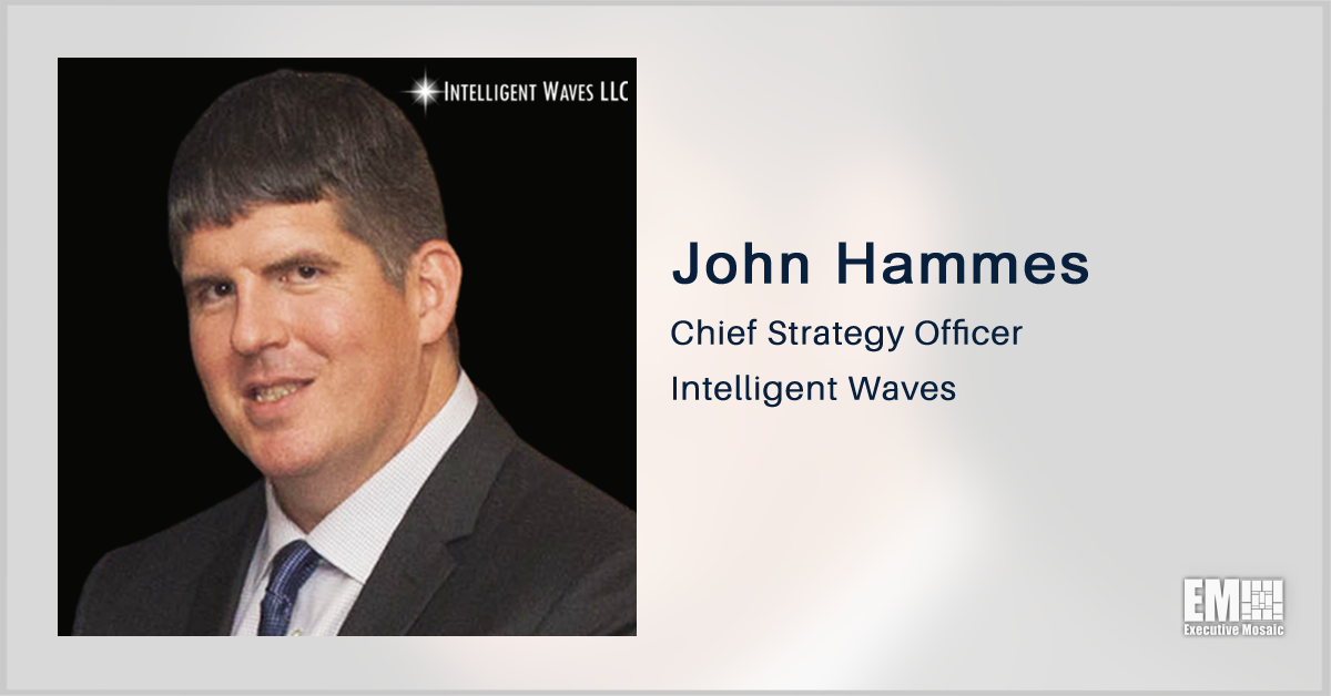 John Hammes Promoted to Intelligent Waves Chief Strategy Officer