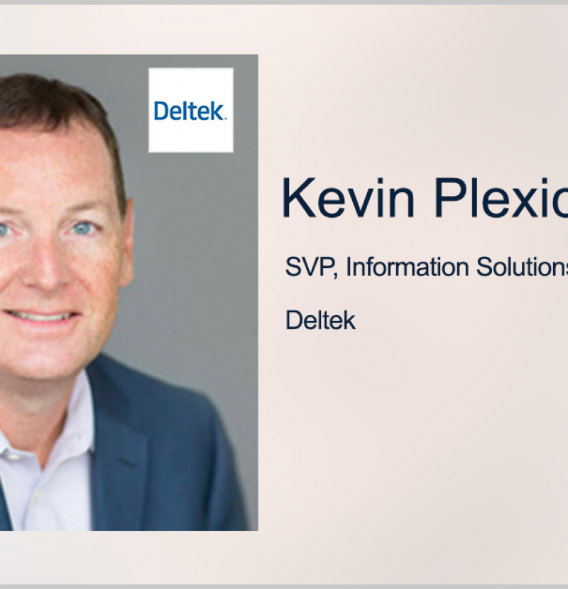 Q&A With GovCon Expert Kevin Plexico, SVP of Information Solutions at Deltek, Discusses Significant Impact of $10B JEDI Contract Cancellation