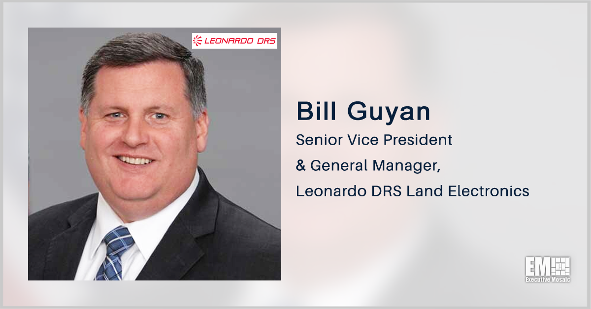 Leonardo DRS Receives $105M Delivery Order for Army Computing, Display Systems; Bill Guyan Quoted
