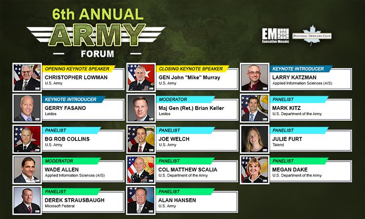 POC - 2021 6th Annual Army Forum