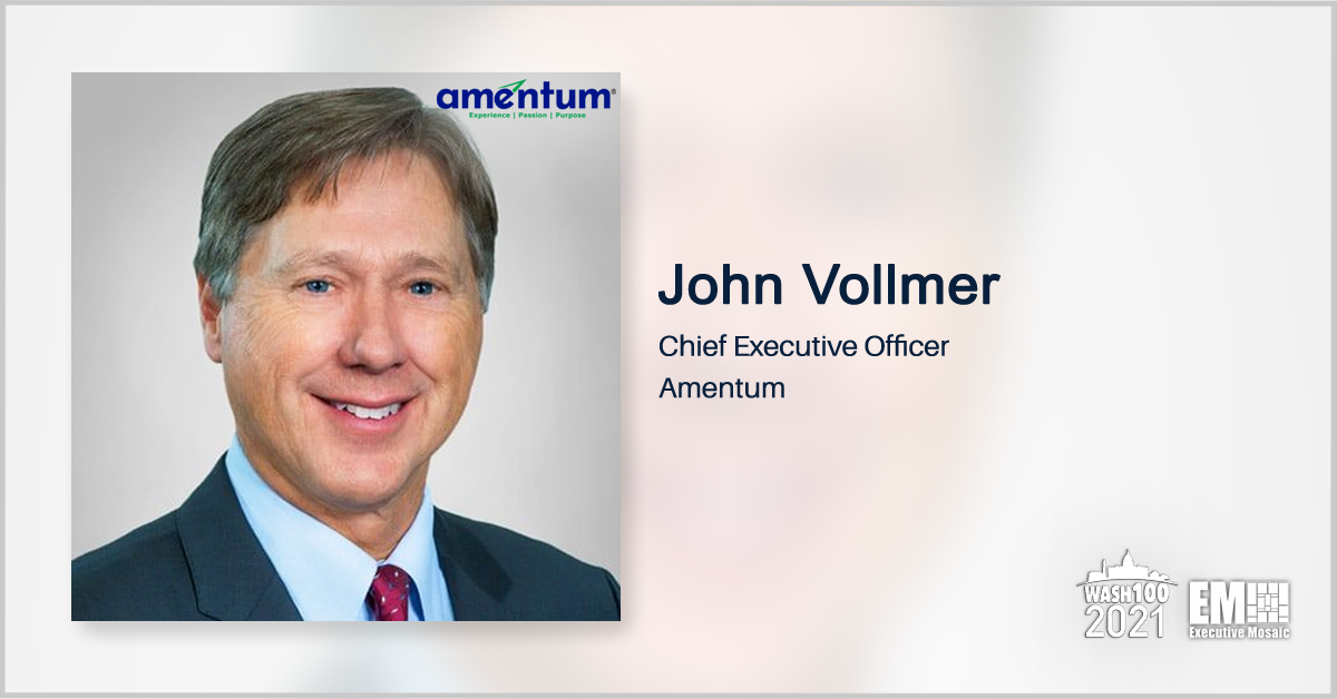 Amentum Strikes $1.9B All-Cash Deal for PAE; John Vollmer Quoted